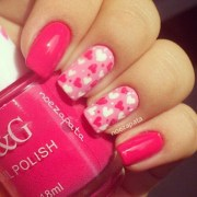 valentine day romantic nail