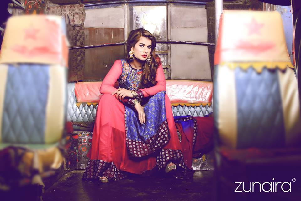 Latest Pakistani Party Wear Dresses for Women 20172018