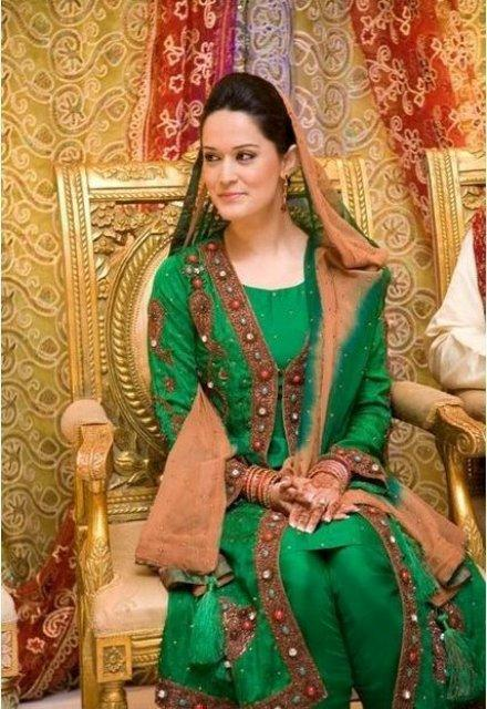 Beautiful Hijab Girl Wallpaper Latest Bridal Mehndi Dresses Collection 2015 2016