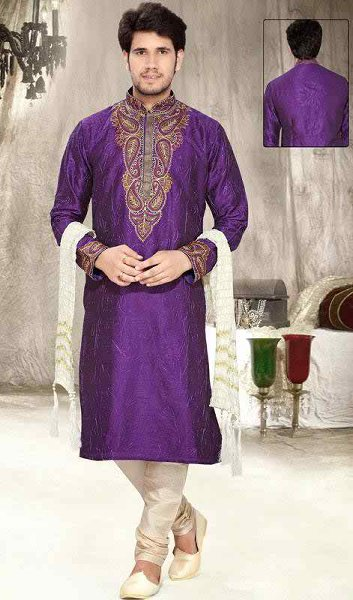 Men Mehndi Dresses Designs Kurta Collection 2015-2016