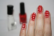 & easy christmas holiday nail