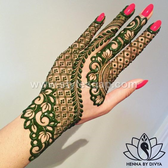 Peacock Mehndi Design 2019