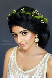 latest indian bridal wedding hairstyles