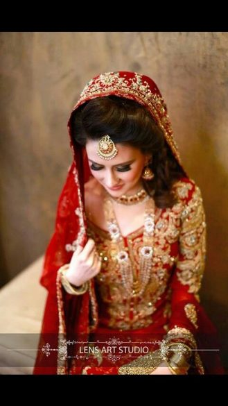 Latest Pakistani Bridal Wedding Hairstyles Trends 2018