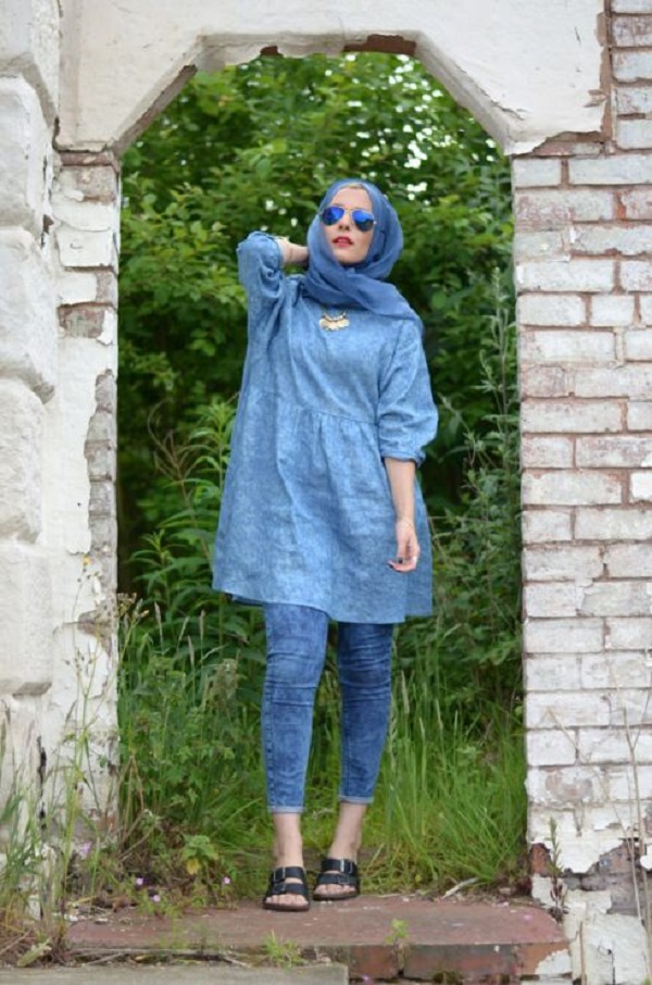 Latest Casual Hijab Styles With Jeans 2017 2018 Trends Amp Looks