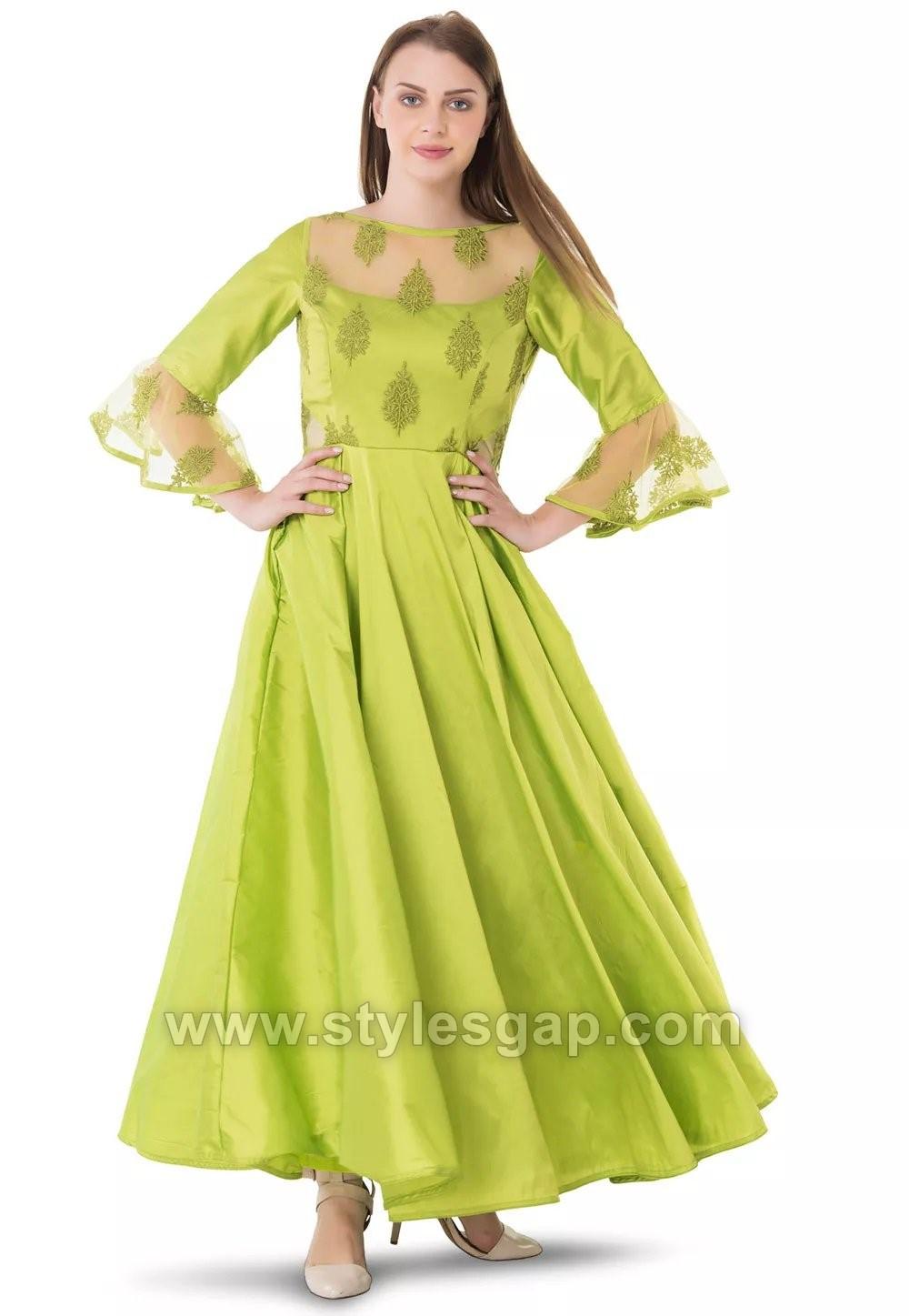 Umbrella Cut Dress Designs  Frocks Styles 201819 Collection
