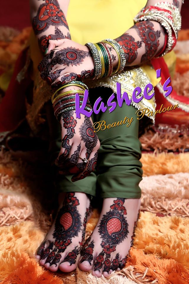 Stylish Mehndi Designs Collection 2019 2020 By Kashee
