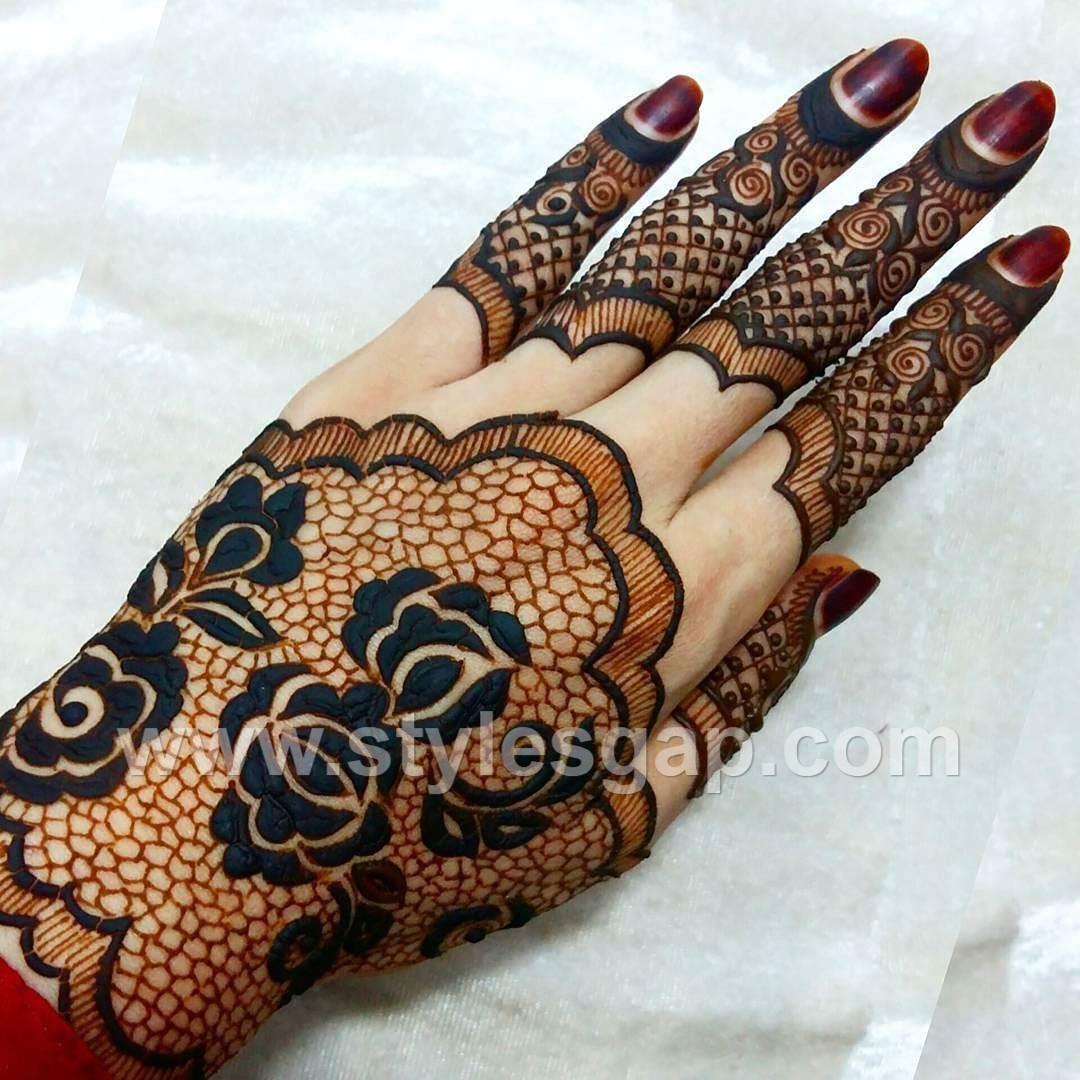 Mehndi Design Arabic New Style