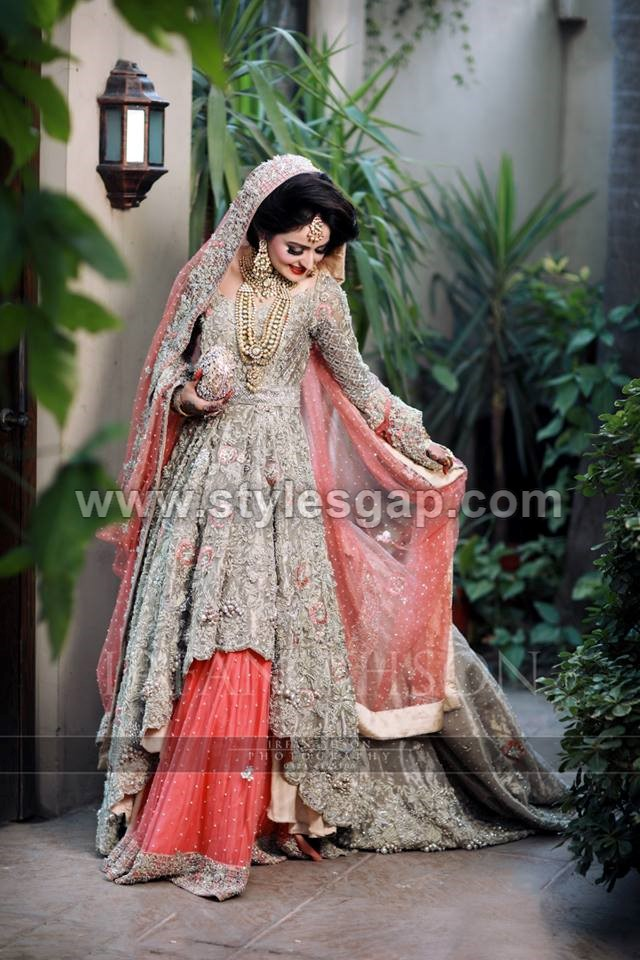 Latest Beautiful Walima Bridal Dresses Collection 2019 20