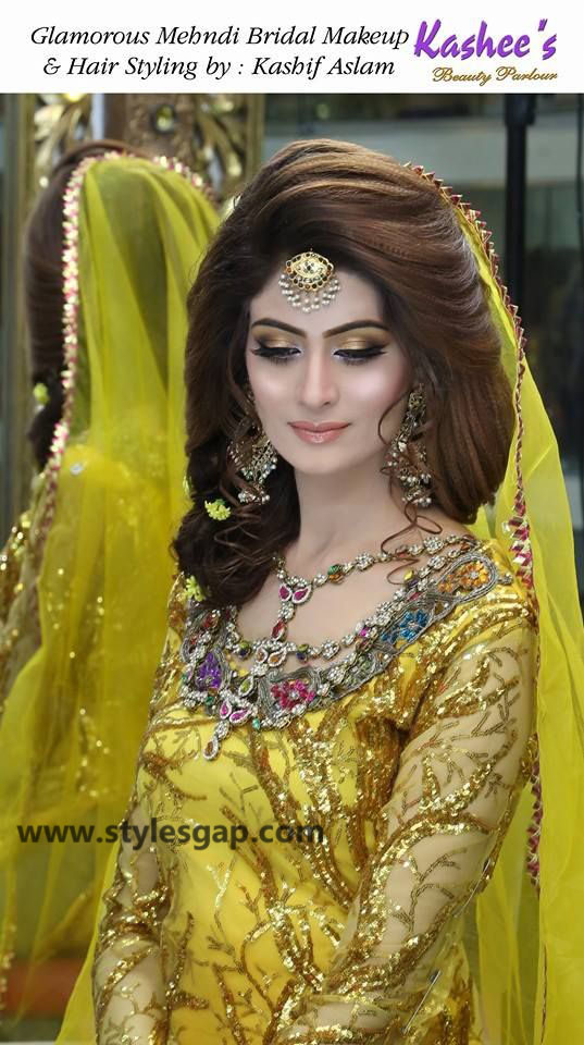 Mayun Bridals Makeup Looks Dresses Designs 2019 2020 Trends