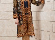 Kayseria Best Winter Dresses Collection 2017-18 Pret, Fabric & Ladli images 4