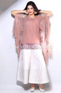 Latest Pakistani Cape Style Dresses 2018