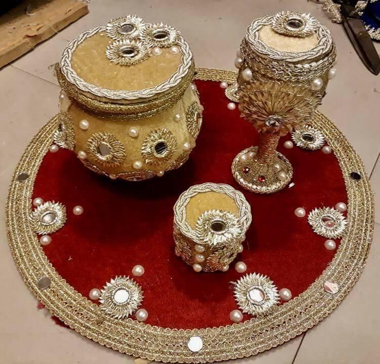 Handmade Mayon Mehndi Jewelry 2018 By Pari Designs Collection