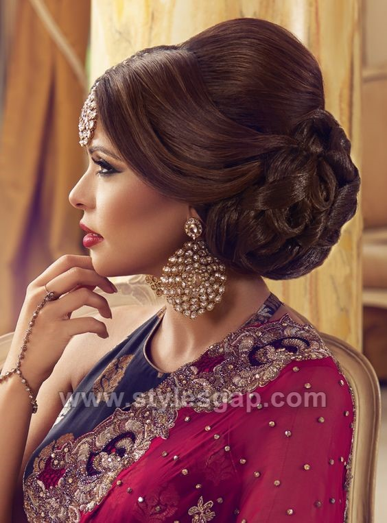 Latest Asian Party Wedding Hairstyles 20182019 Trends