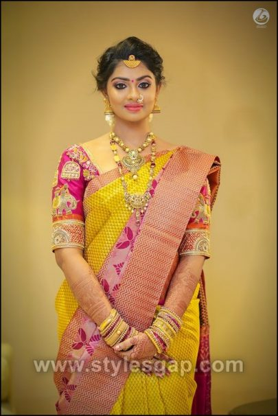 Different Cultures Indian Traditional Bridal Dresses Trends 20182019