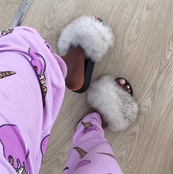 10 Best Ways to Wear Fur Slides Slippers to Rock the Show