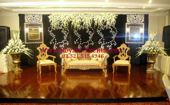 Stage Decoration Ideas For Walima Functions 8