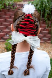 christmas hairstyles trendy ideas