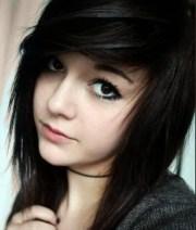 emo girl hairstyles length
