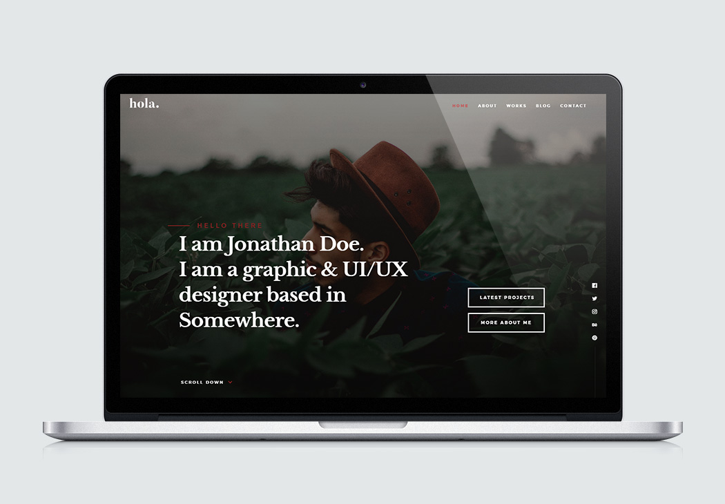 Html5 Vcard Templates For Free Download Styleshout