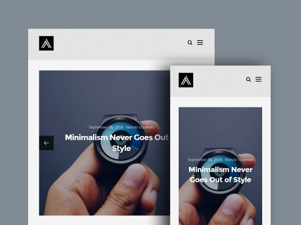 Free Website Template - Abtract 02