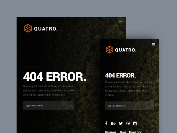 Quatro | High-Quality Free Website Template by Styleshout