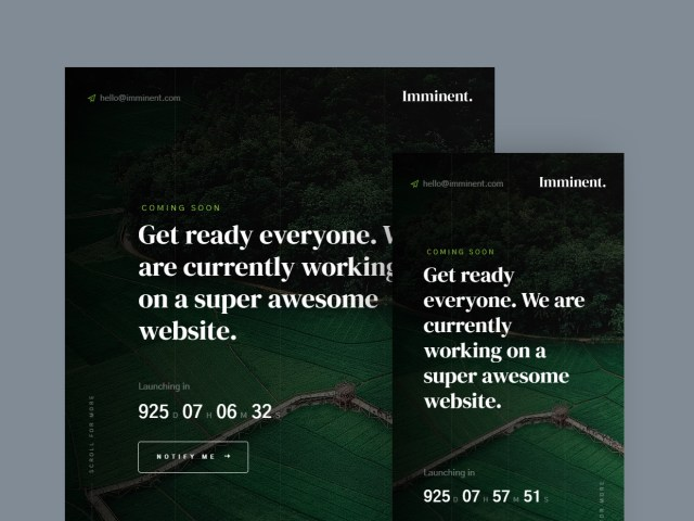 Free Website Template - Imminent 02