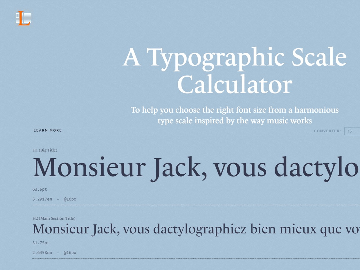Online Type Scale Calculators Every Designer Should Know