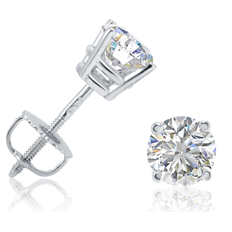 Buy The Best Diamond Stud Earrings Ever Ted