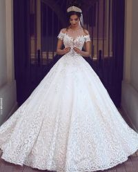 Shopping for beautiful wedding dresses  StyleSkier.com