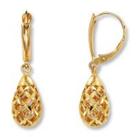 Gold Drop Earrings Are In Fashion  StyleSkier.com