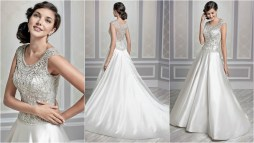 Silver Ball Gown Wedding Dresses
