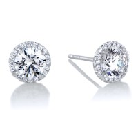 Best Cz Diamond Stud Earrings Aliexpress Umode Small ...