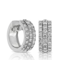 Add Collection to your Jewelry Box with Diamond Hoop ...