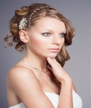 bridesmaids hairstyles 2012