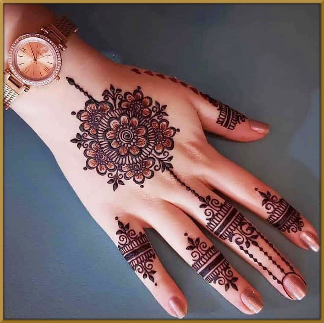 Whether you're completely undecided about what you want or you already have most of the desi. Lovely Floral Mehndi Designs 2021 With Pictures Latest Collection