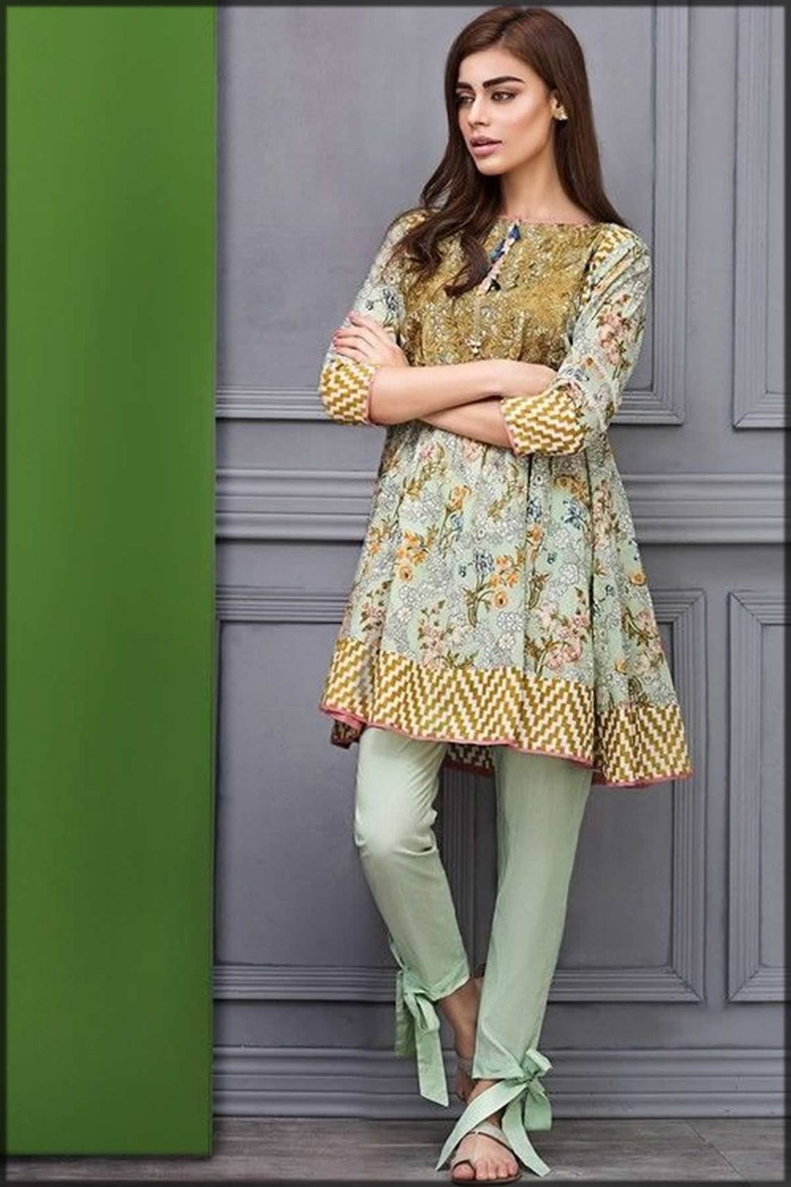 Pakistani Peplum Style Dresses for Girls in 2021 with ...
