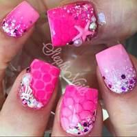 25 Cute Pink Nail Art 2017 - Styles 2017