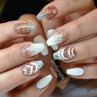 30 Acrylic Nail Designs for Winter - Styles 2018