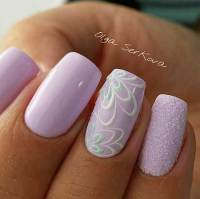25+ Simple Spring Nail Art Designs 2017