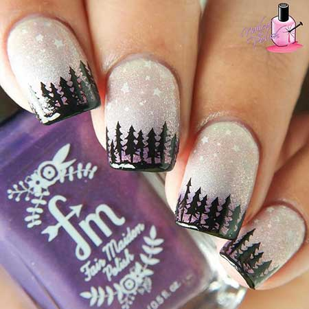 32 Winter Nail Art