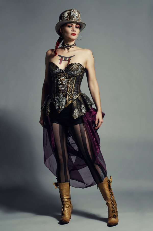 Steampunk Fashion Power Of Steam In Victorian Era