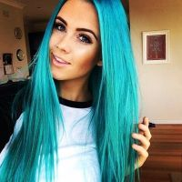 Get a Turquoise Hair Dye To Stand Out In The Crowd