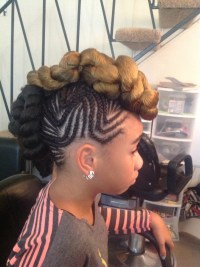 15 Foremost Braided Mohawk Hairstyles - Mohawk With Braids