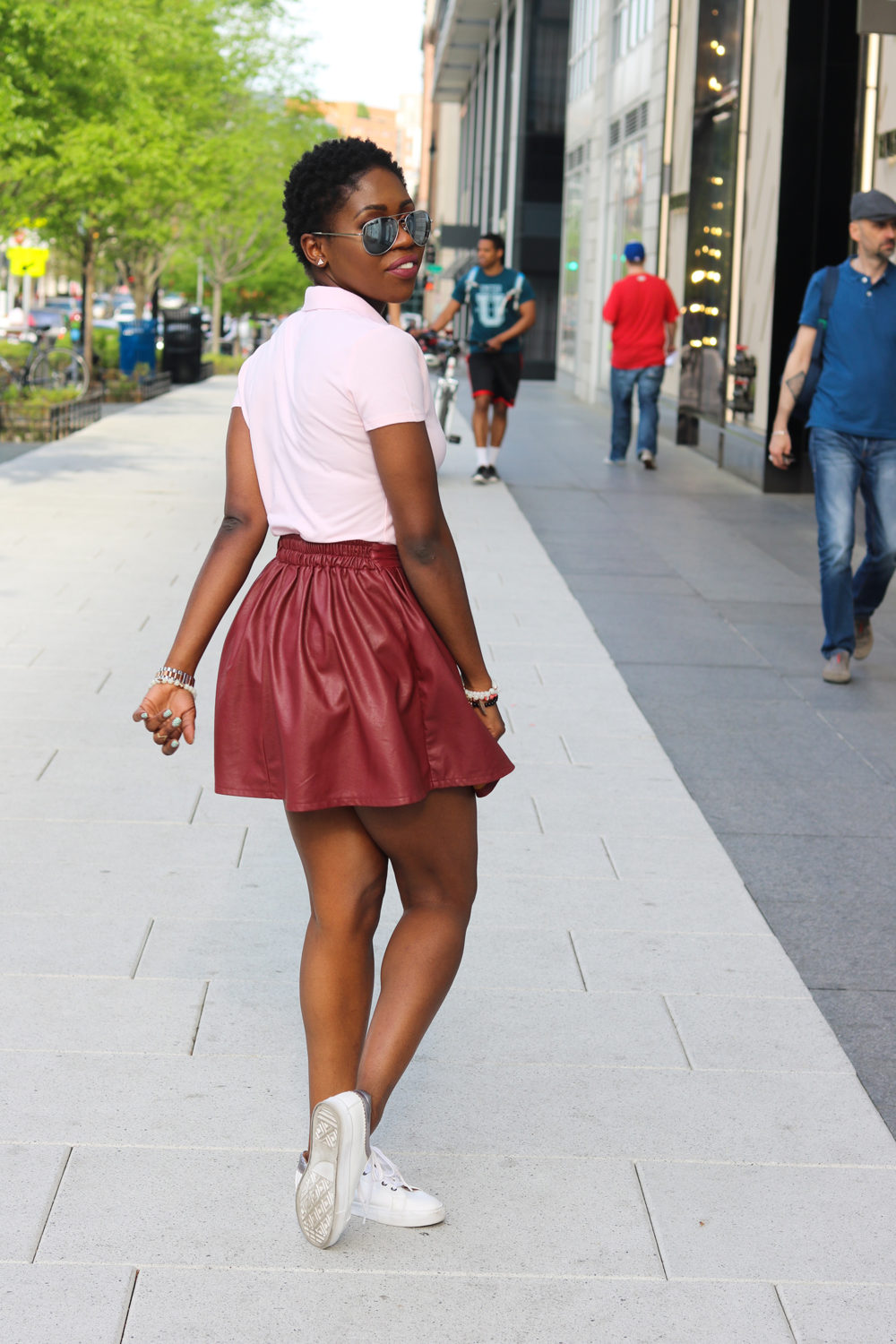 style synopsis_ leather skirt