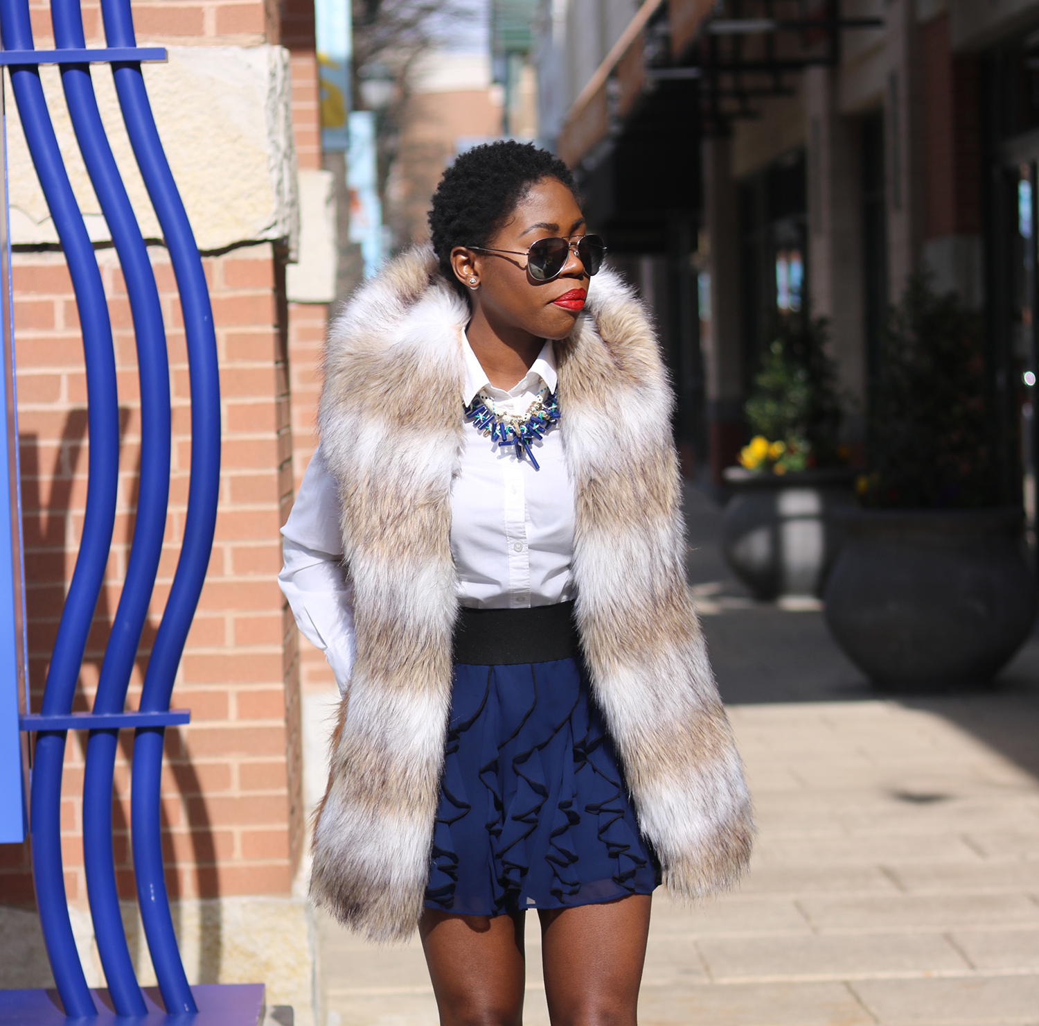style synopsis_ royal blue mini