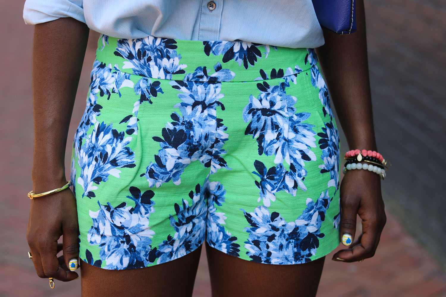 style synopsis floral shorts