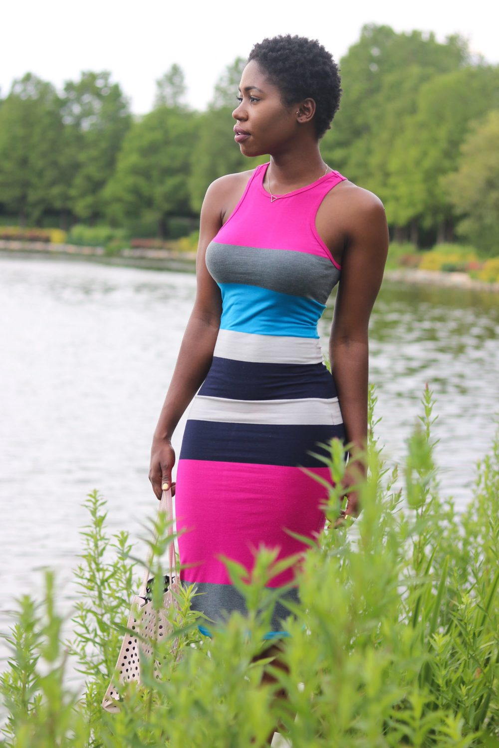 style synopsis bright colored dress