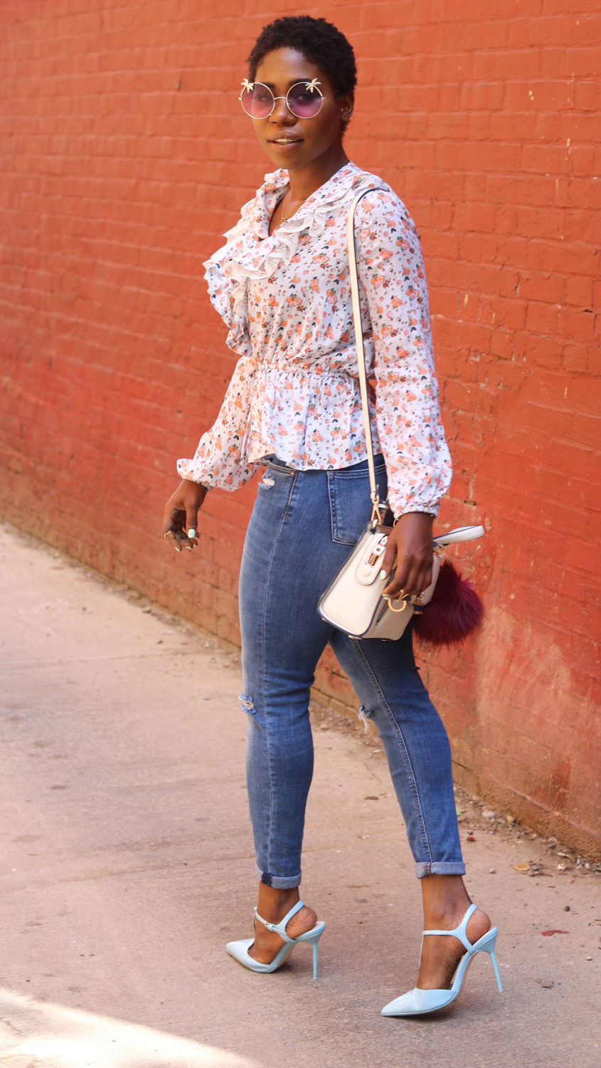 style synopsis summer floral top