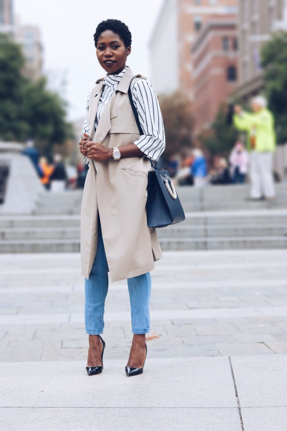 style synopsis-long duster-fall-vest